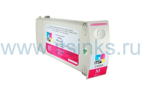 Картридж для HP 81 (C4932A) Magenta 680 мл