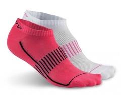 Спортивные носки короткие Craft Cool Training 1903429-2471 розовый-белый