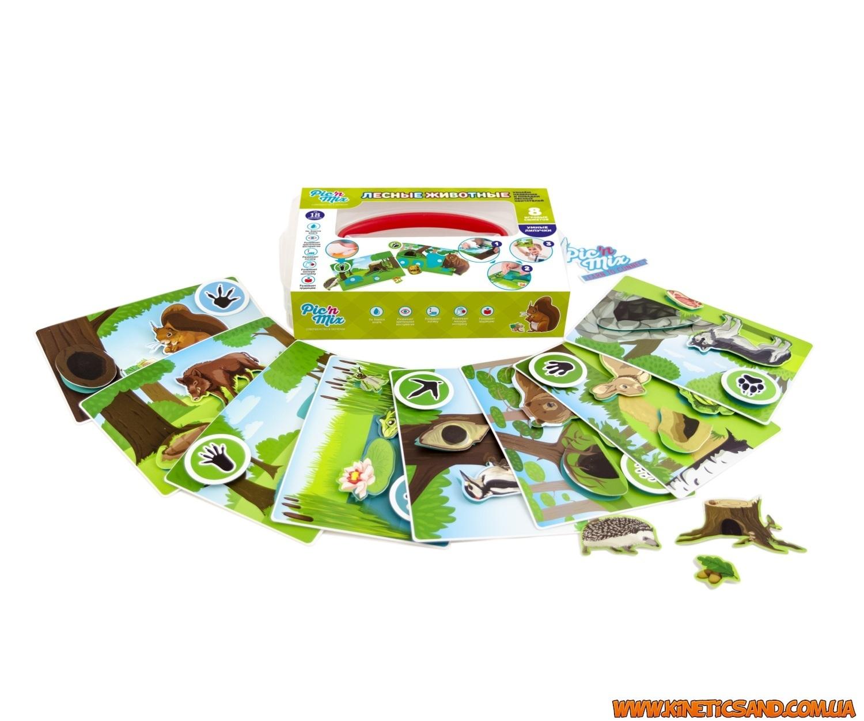 Лесные животные - Умные липучки picnmix