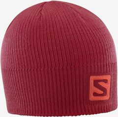 Шапка Salomon Logo Beanie Biking Red