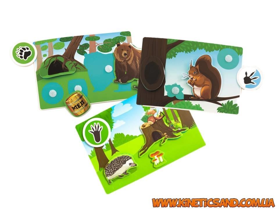 Лесные животные - Умные липучки пикнмикс