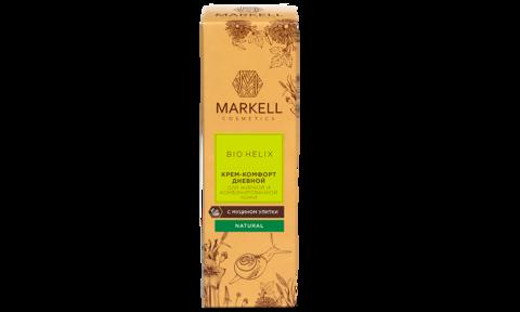 Markell Bio-Helix Крем-комфорт для жирной и комбинированной кожи с муцином улитки 50мл