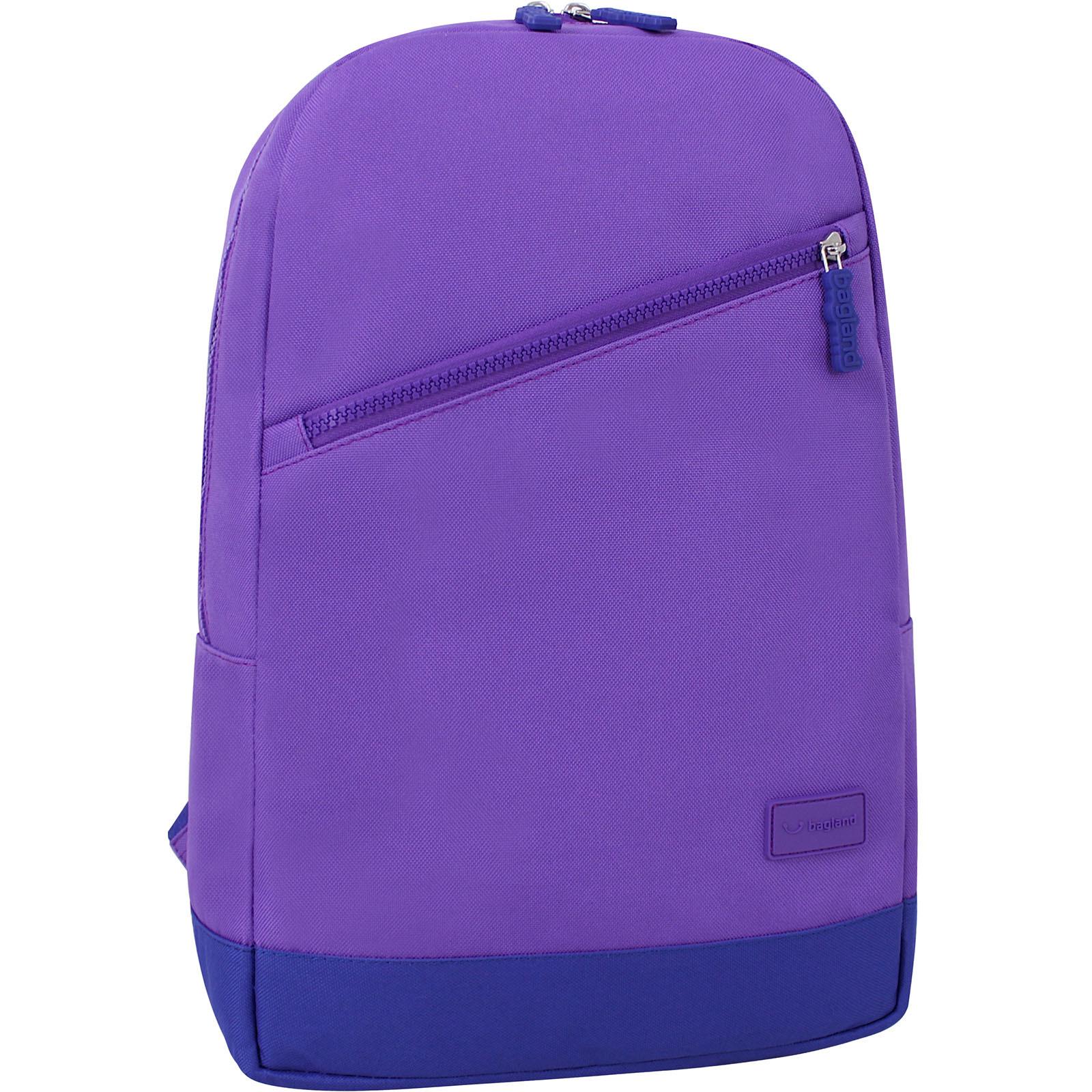 Новинки Рюкзак Bagland Amber 15 л. фиолетовый/электрик (0010466) IMG_9788_170._електрик_.JPG
