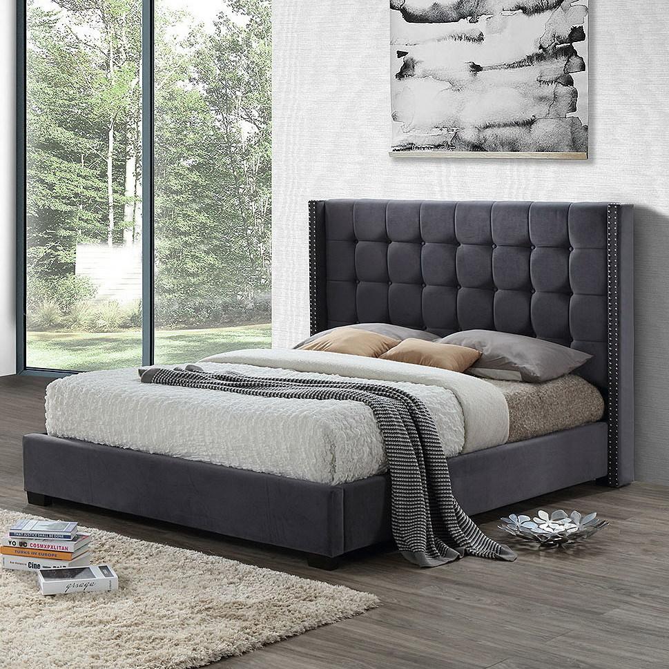 Кровать ESF INFI2868 серый