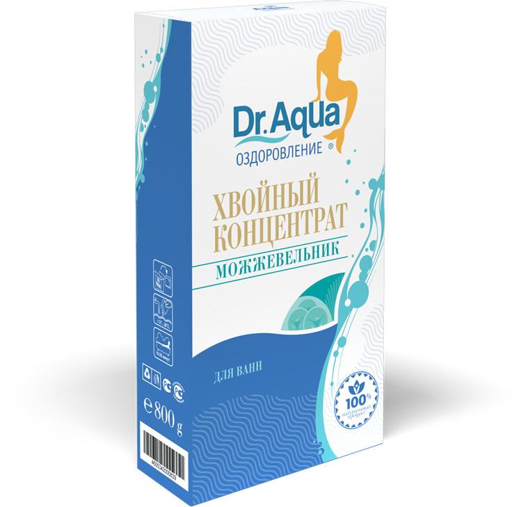 Dr. Aqua хвойный концентрат с маслом можжевельника 800 г.