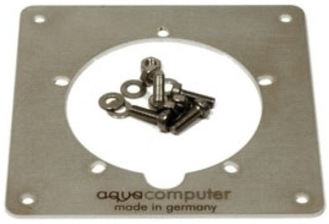 Aqua-Computer Mounting plate stainless steel for aquatube