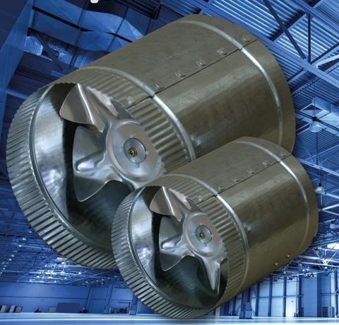 Эра CV-300 d300 (1000м3/ч)  Канальный осевой вентилятор