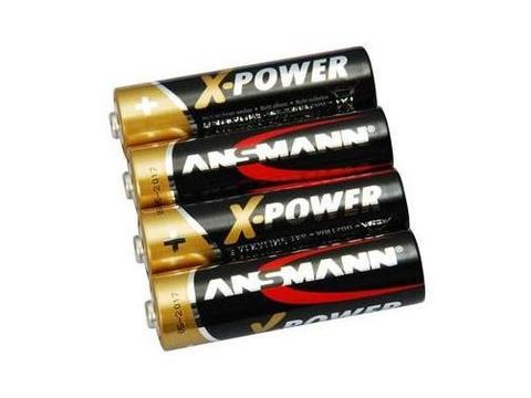Батарейка X-POWER AA ANSMANN 1.5V - 4шт в пленке