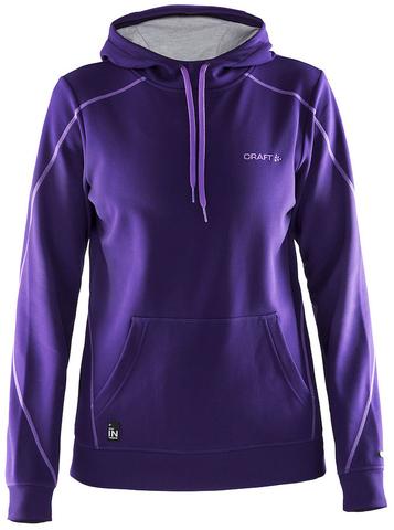 Толстовка женская Craft In the Zone Hood Purple