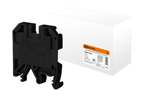 Зажим наборный ЗНИ-2,5мм2 (JXB25А) черный TDM