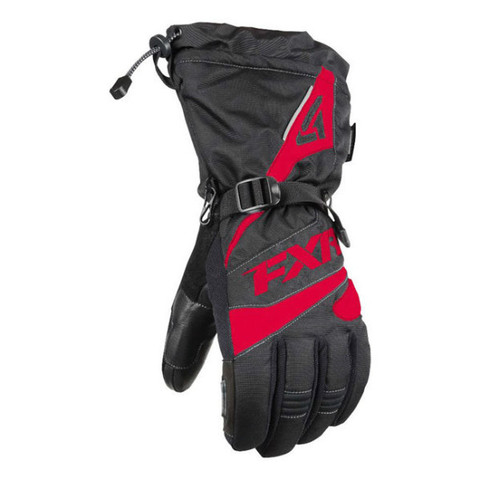 Перчатки FXR Fuel 15 Black-Red