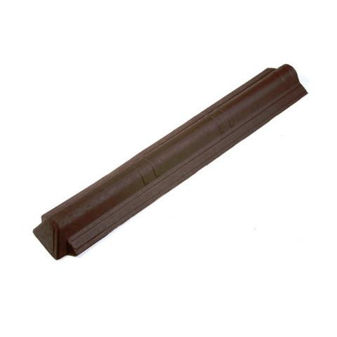 Конек торцевой Ондувилла коричневый 194х1050 мм