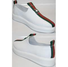 Кроссовки без шнурков женские New Malange M970 white.
