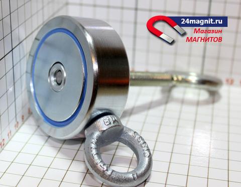 Двухсторонний поисковый магнит 120Х2