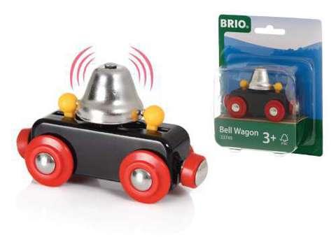 BRIO 33749 Вагончик с сигнальным колокольчиком