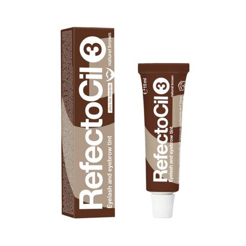 Краска для бровей и ресниц REFECTOCIL, #3 коричневая, 15мл