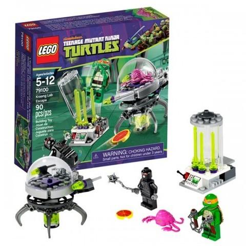 LEGO Ninja Turtles: Побег из лаборатории 79100