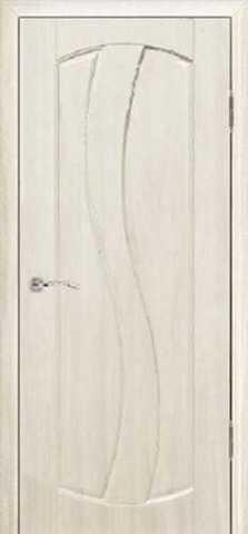 Дверь Сибирь Профиль Аврора, цвет беленый дуб, глухая