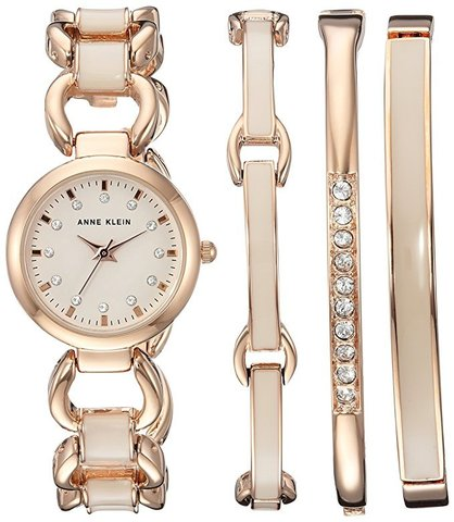Купить Женские наручные часы Anne Klein 1952RGST в наборе по доступной цене