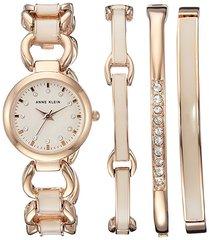 Женские наручные часы Anne Klein 1952RGST в наборе