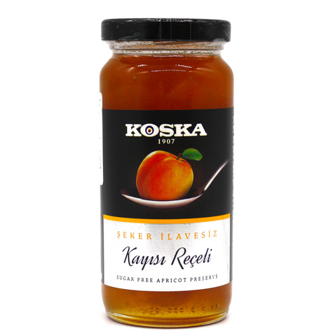 Варенье абрикосовое без сахара, Koska, 290 г