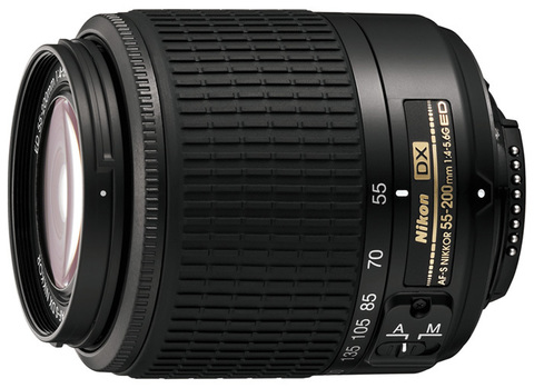 Nikon 55-200mm f/4-5.6G AF-S DX ED Zoom-Nikkor (China)