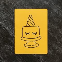 Единорог-торт №1