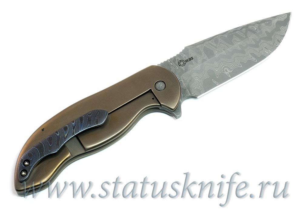 Нож Dressed Framelock Flipper David Mosier