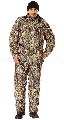 Комплект: костюм и муфта с подогревом