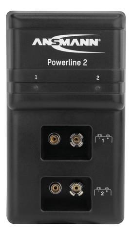 Быстрое зарядное устройство  ANSMANN Powerline2 (для Крон)