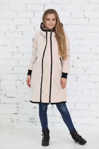 Куртка 2в1 для беременных 10803 молочный