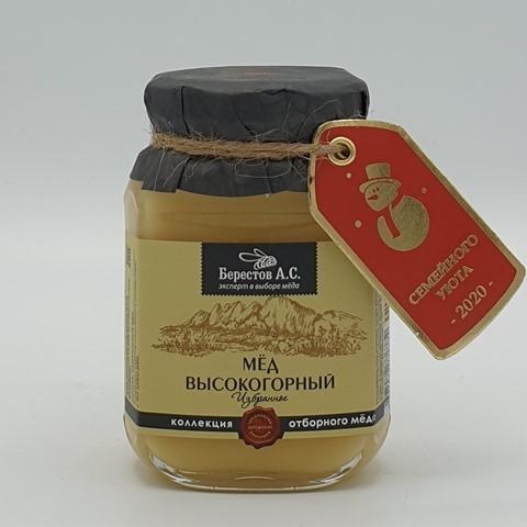 Мёд натуральный Алтайцвет Высокогорный БЕРЕСТОВ А.С., 200 гр