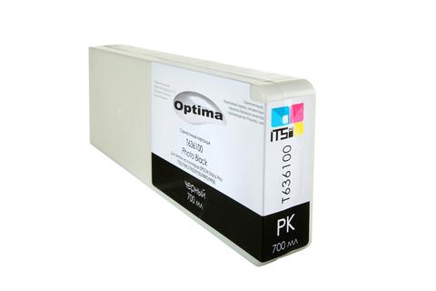 Картридж Optima для Epson 7700/9700 C13T636100 Photo Black 700 мл