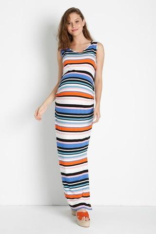 Платье 08424 серый