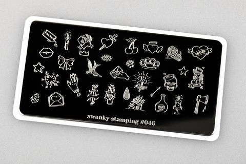 Пластина Swanky Stamping 046