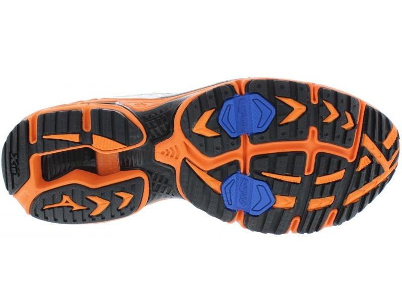 Мужские кроссовки для бега Mizuno Wave Rider 16 (08KN302 09) белые подошва