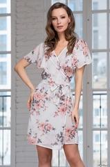 Короткий женский халат  MIA-AMORE  DANIELLA Даниэлла 8217