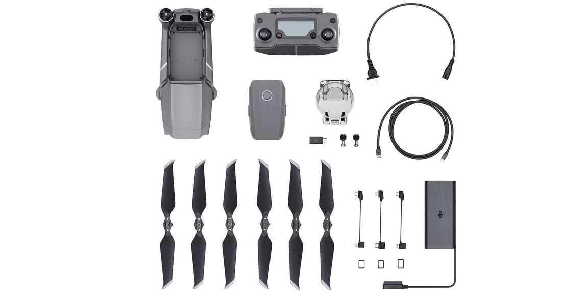 Квадрокоптер DJI Mavic 2 Pro что в комплекте