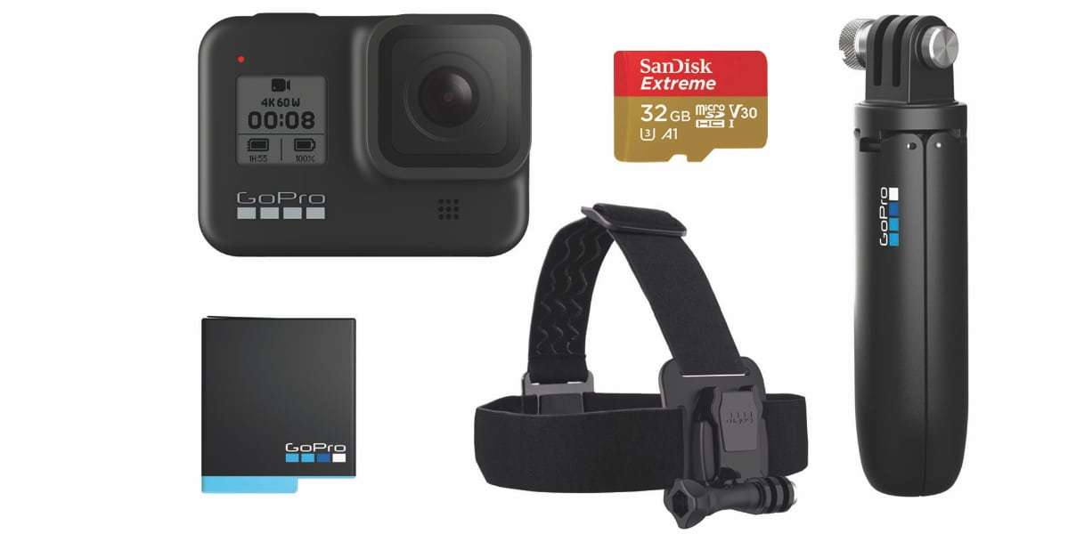 Набор GoPro HERO8 Black Special Bundle (CHDRB-801) комплект