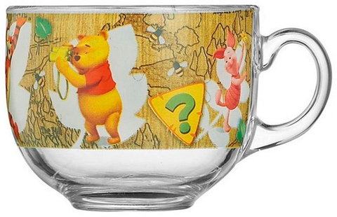 Кружка Luminarc Jumbo Disney Winnie nature 400 мл (E7622)