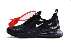 Off-White x Nike Air Max 270 'Black'
