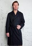 Легкий халат из шерсти B&B