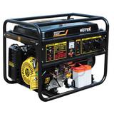 Бензиновый генератор Huter DY8000L - фотография