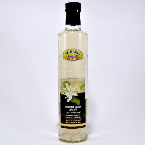 Вода из цветков апельсина (померанцевая) пищевая Al-Rabih, 500мл