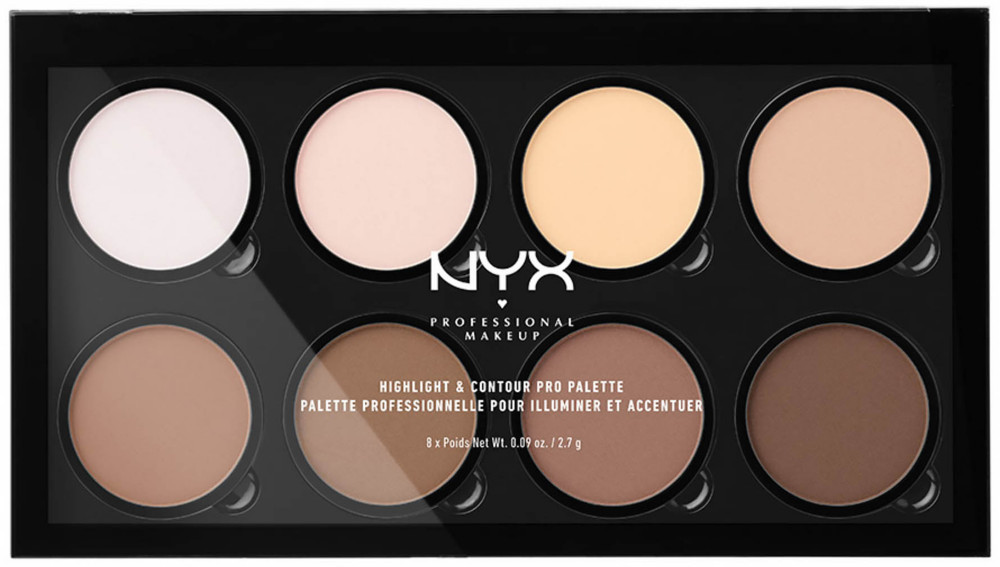 NYX Highlight & Contour Pro Palette компактная палетка для контура