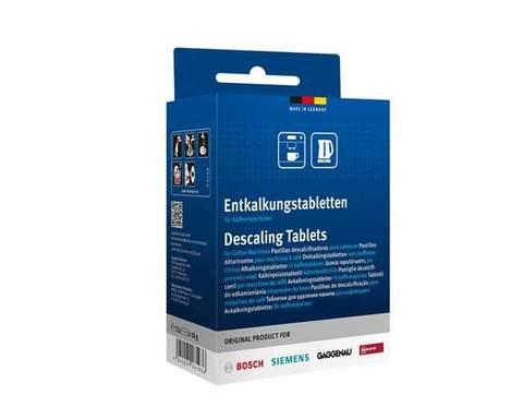 Таблетки от накипи для кофемашин Bosch/Siemens, двойная упаковка (12шт.)