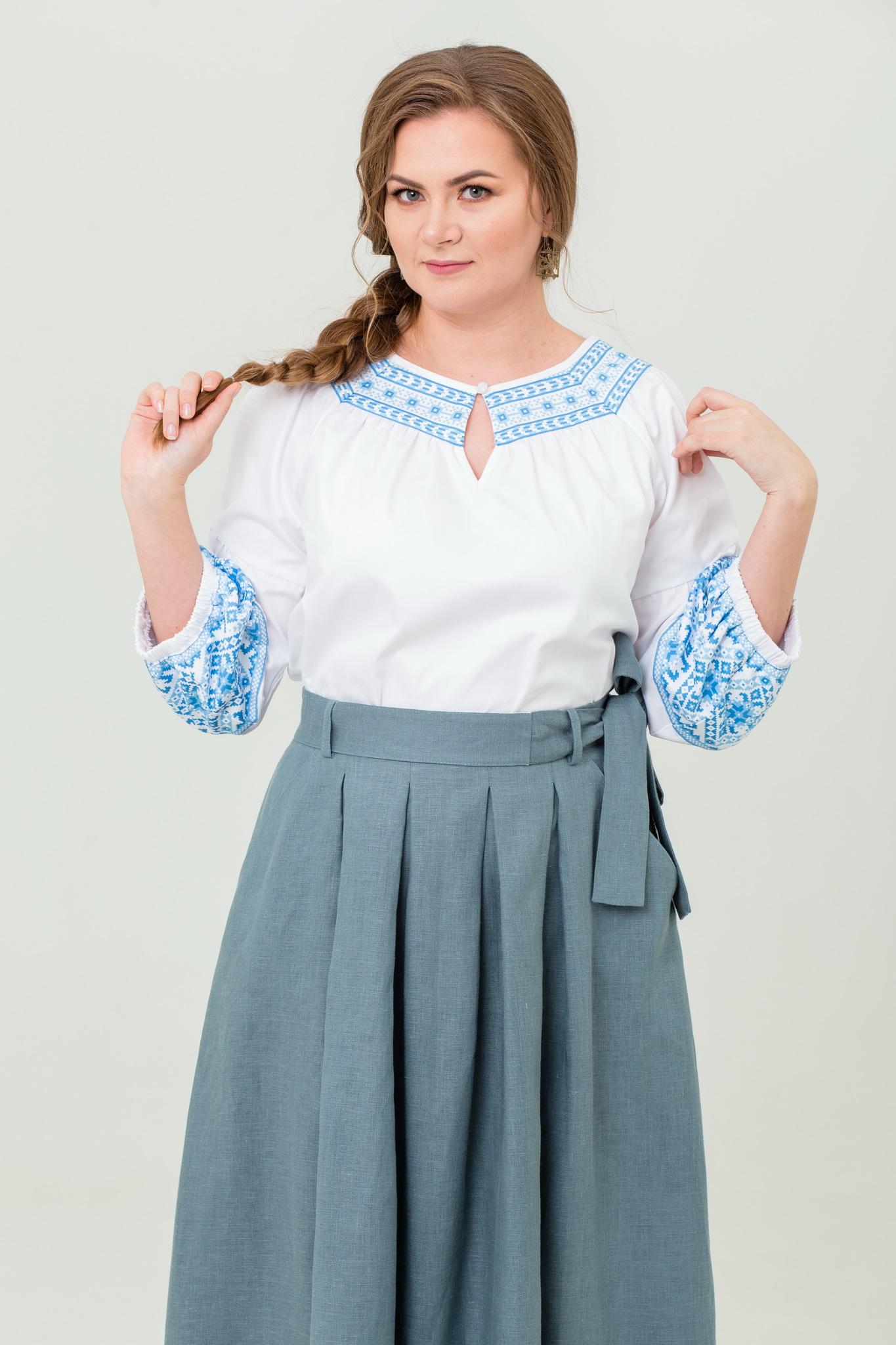 Блуза хлопковая Василиса купить