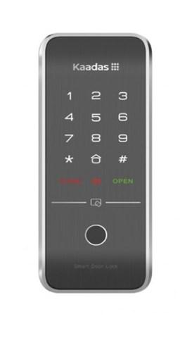 Накладной электронный дверной замок с отпечатком пальца Kaadas R7-5 Black Fingerprint