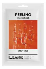 Тканевая маска для лица с энзимами Enzymes Peeling Mask Sheet 25мл