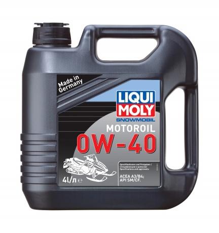 Liqui Moly Snowmobil Motoroil 0W40 Синтетическое моторное масло для снегоходов